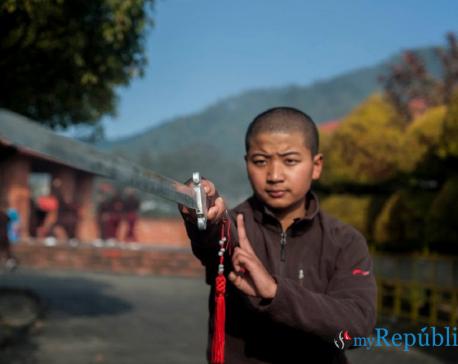 PHOTOS: Kathmandu's Kung Fu nuns
