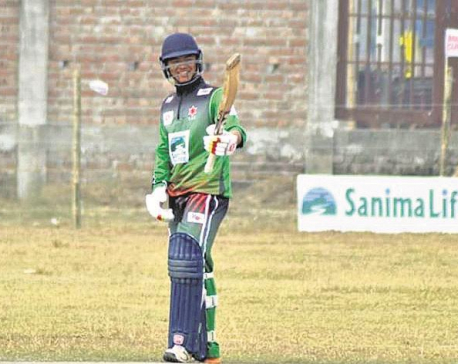 Malla's record-breaking century helps Army to convincing win