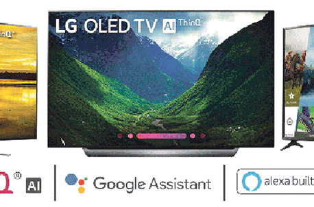 LG's new OLED television in Nepali market