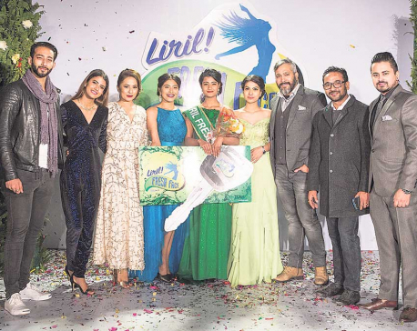 Hishila Maharjan Bags the title of Liril Fresh Face