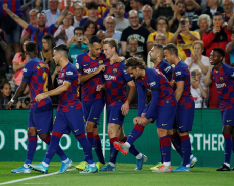 Teenage sensation Fati leads Barca thrashing of Valencia