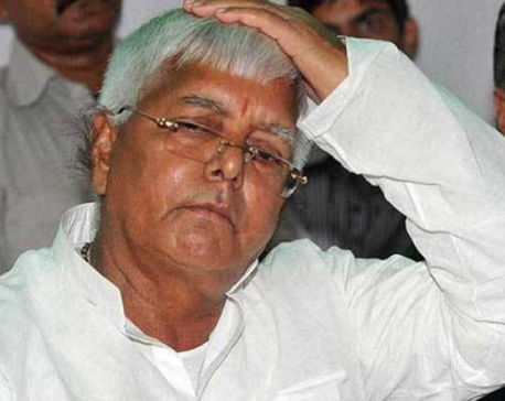 Lalu Prasad found guilty in third case; sentenced to five years in jail