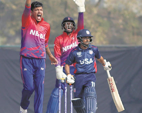 Nepal ends home League 2 series with record win