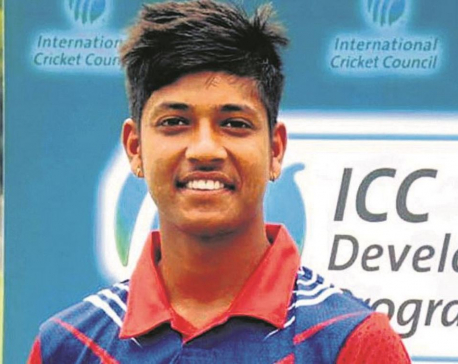 Cricketer Lamichhane flying to the UK to play The Hundred