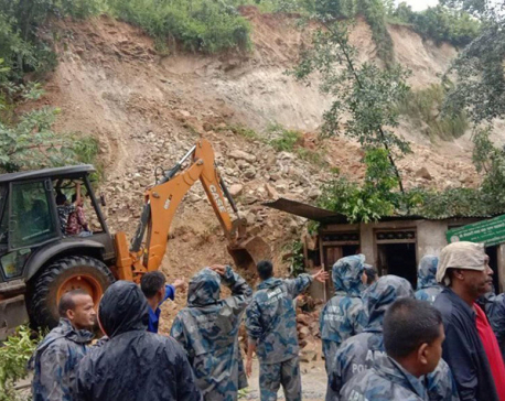 Landslide kills child in Kavre