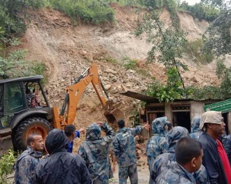 Landslide kills child in Kavre