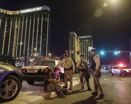Sniper in high-rise hotel kills at least 58 in Las Vegas (Update)
