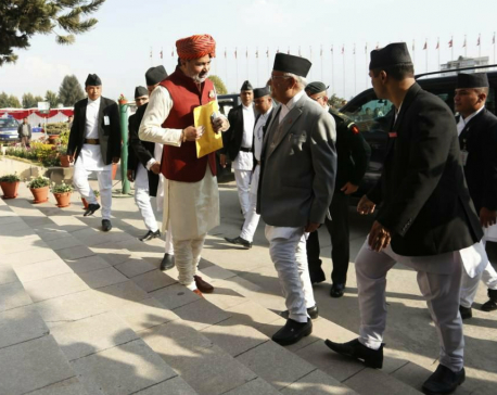 In Pictures: Diversity in Parliament premises