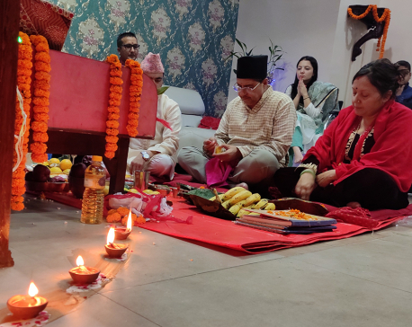Nepal Republic Media celebrates Laxmi Puja (with photos)
