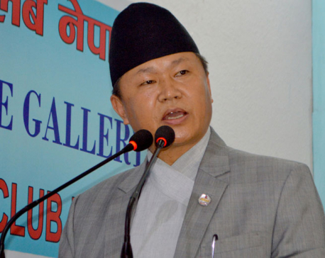 Minister Rai says govt materializing constitution implementation process