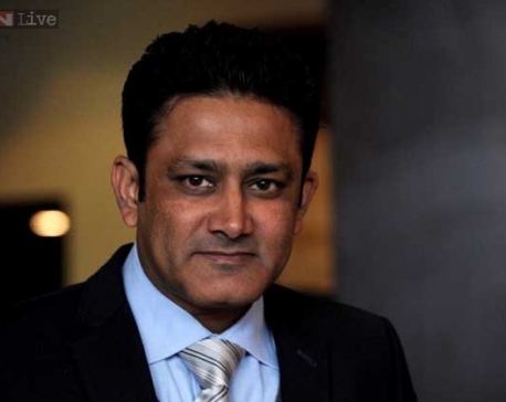 Anil Kumble appointed India head coach