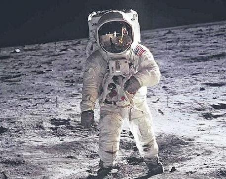 Moon astronaut Aldrin visiting Nepal