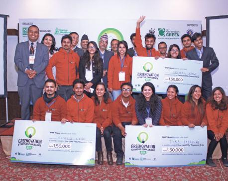 Youth innovators plan green startups