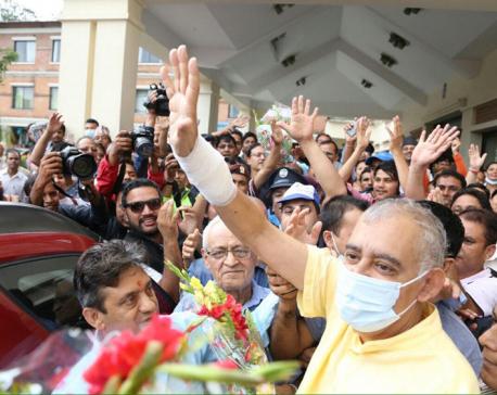 NC Gen Secy Koirala discharged
