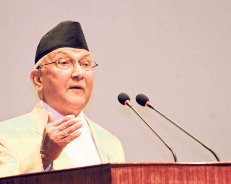 Stop making anti-govt statements: PM to Maoists