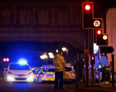 Suicide bomber kills at least 22, including children, at Ariana Grande concert in Britain (update)