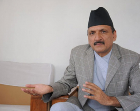 Nat'l consensus govt a must to resolve existing problems: Mahat