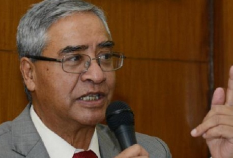 NC President Deuba leaves for India