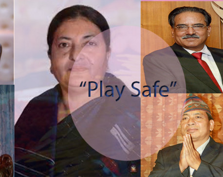 Leaders and public figures urge to play safe during this festive season
