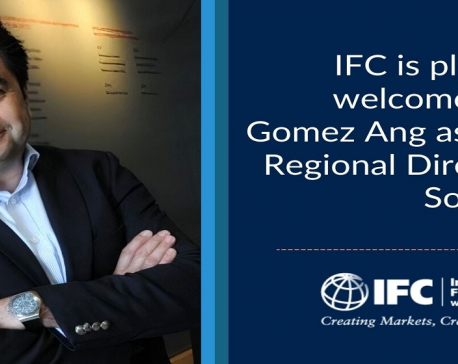 IFC's new Regional Director Gomez Ang announces to focus on COVID and climate finance to help South Asia's Post-COVID economic recovery efforts