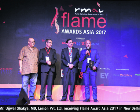 Lemon Pvt Ltd wins six awards