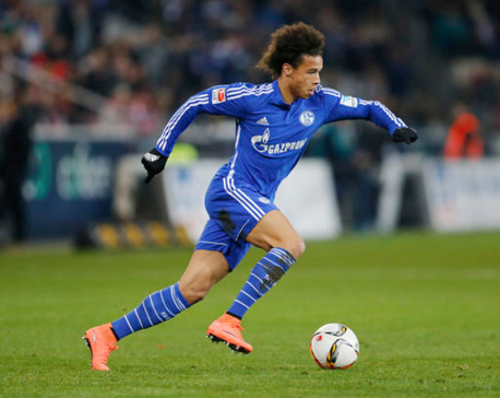 German forward Leroy Sane joins Manchester City