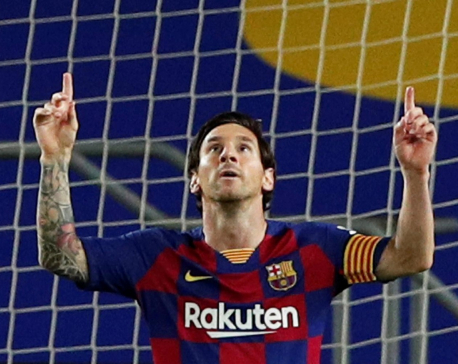 Barca stay top with sluggish win over Leganes
