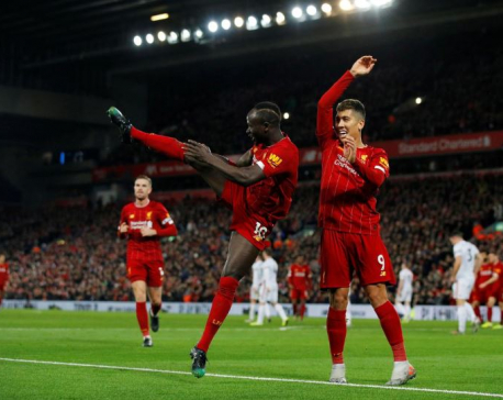 Salah and Mane strike as Liverpool see off The Blades