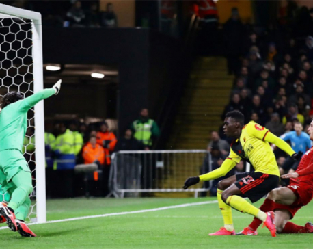 Liverpool's dream run ends in shock 3-0 thrashing at Watford