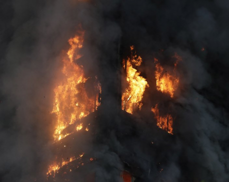 Unknown number killed in massive London high-rise blaze