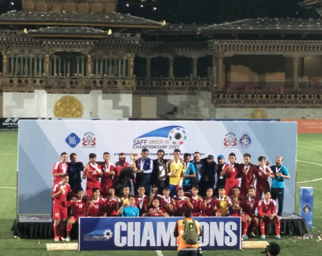 Nepal defends SAFF U-18 Championship title defeating India