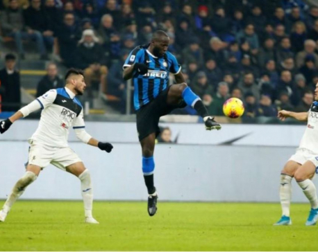 Inter go clear at the top despite being held by Atalanta