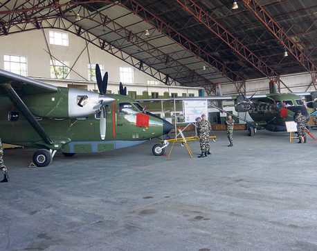 US hands over two Skytrucks to Nepal Army