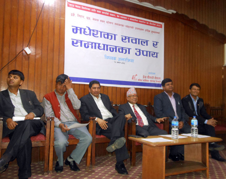 Madhes issues should be dealt broadly: Nepal