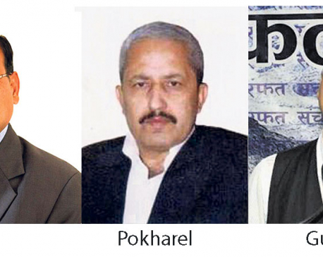 Mahara, Pokharel, Gurung eying speaker post
