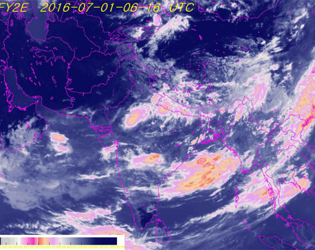Heavy rains batter country throughout today