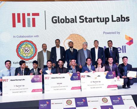 Three start-up ideas awarded