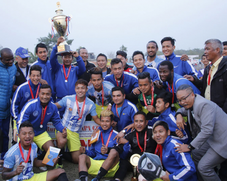 Manang lifts Jhapa Gold Cup