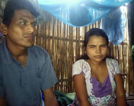 Chance mobile phone call leads blind couple to wedlock