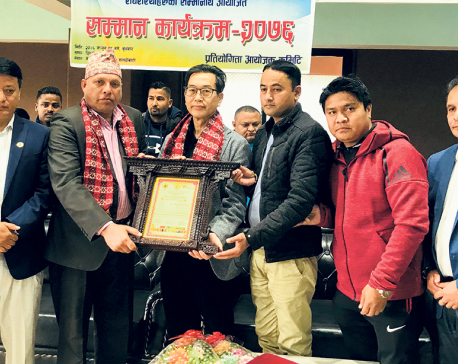Cheong felicitated