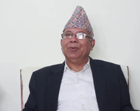 Central committee meeting of UML's Nepal-led faction underway in capital