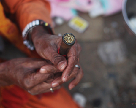 Devotees throng Pashupatinath to observe Mahashivaratri (photo feature)