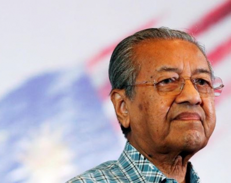 Malaysia's Mahathir returns as interim PM amid political uncertainty