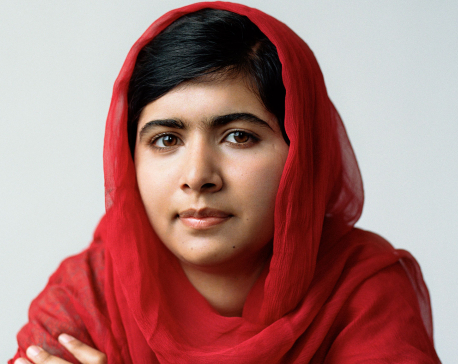 Malala receives highest U.N. honour to promote girls education