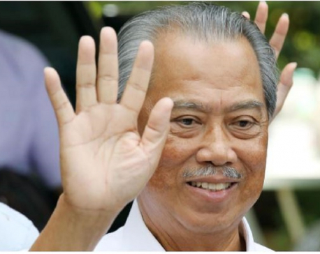 Malaysia's Muhyiddin sworn in as PM, succeeding Mahathir