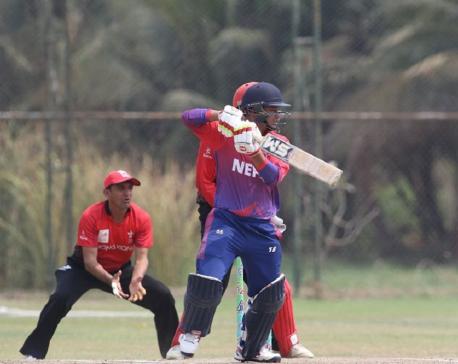 Nepal loses to Hong Kong by 43 runs