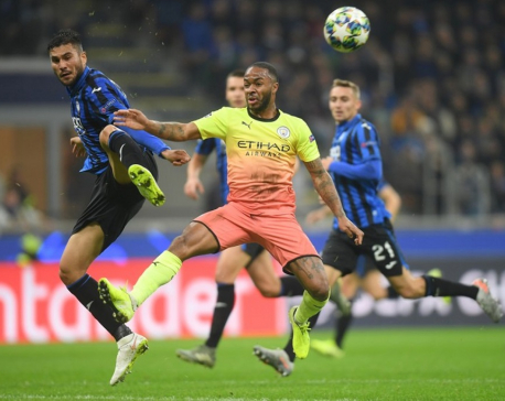 Atalanta fight back to draw with Man City as Kyle Walker ends up in goal