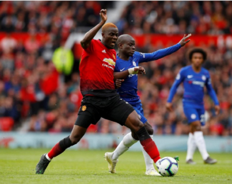 Manchester United's Bailly out until Christmas after knee operation