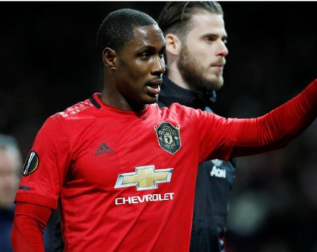 Ighalo dedicates first Man Utd goal to late sister