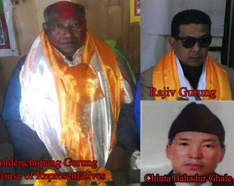 UML wins in Manang, Deepak Manange secure province